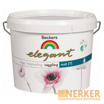 Elegant Vaggfarg Matt Beckers краска для стен (Бекерс Элегант 7)
