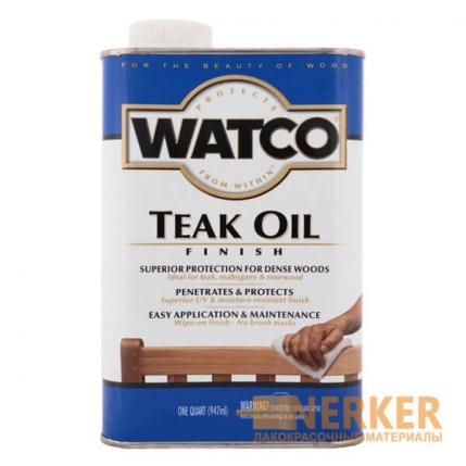 Масло тиковое для дерева Watco Taek Oil