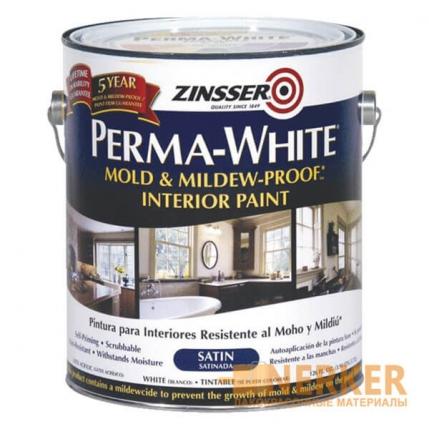 Краска для стен интерьерная Zinsser Perma-White Interior Paint