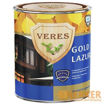 Пропитка с воском для дерева Veres Gold Lazura (Верес Голд)