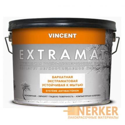Антибактериальная моющаяся краска Vincent Extramat (Экстрамат)