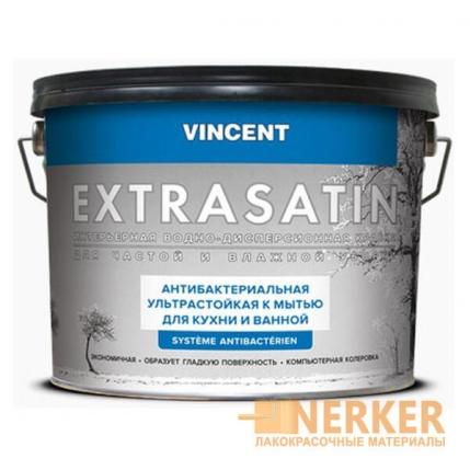 Антибактериальная краска ультрастойкая к мытью Extrasatin (Экстрасатин)
