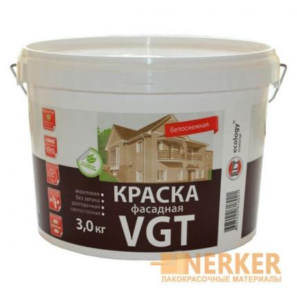 Краска фасадная «Белоснежная» ВГТ (VGT)