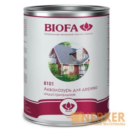 8101 Биофа Аквалазурь для дерева индустриальная Biofa