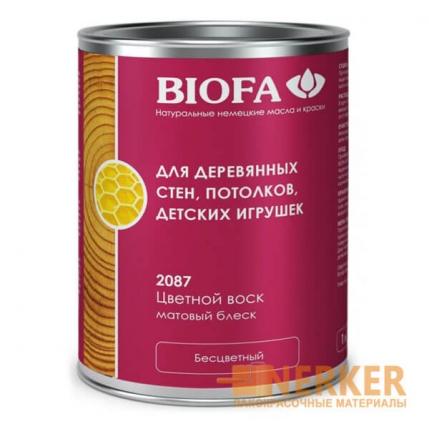 2087 Цветной воск Biofa (Биофа)