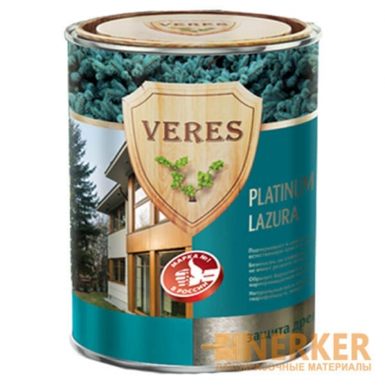 Veres Platinum Lazura лазурь для дерева (Верес Платинум Лазурь)