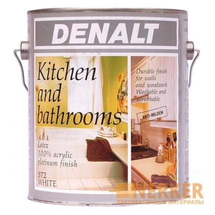 Краска для кухонь и ванных комнат Denalt Kitchen and Bathroom