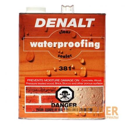 CLEAR WATERPROOFING SEALER гидроизоляционная пропитка (3,78Л)