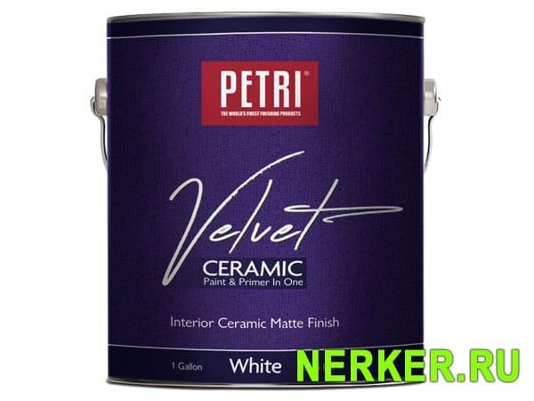 Велюровая краска Petri Velvet Ceramic (Петри Вельвет)