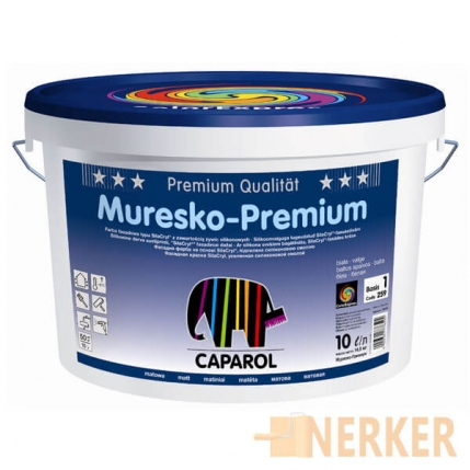 Фасадная краска Caparol Muresko-Premium (Капарол Муреско-Премиум)