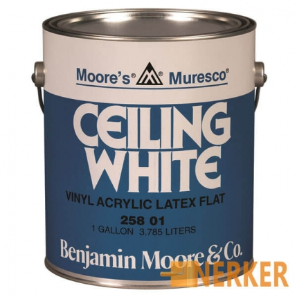 Краска Benjamin Moor Ceiling white 258 (Келинг вайт)
