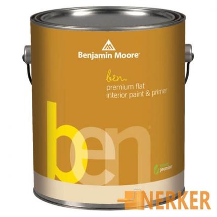 Краска Benjamin Moor Ben Interior Latex Flet Finish 625
