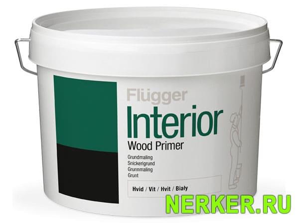 Flugger Interior Wood Primer грунт для дерева Флюгер