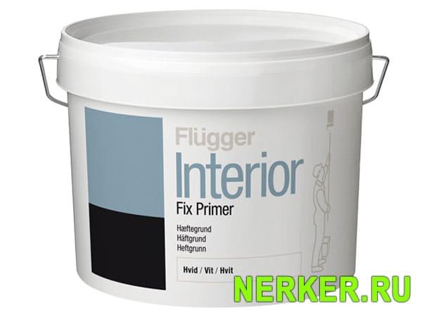 Flugger Interior Fix Primer Адгезионная грунтовка Флюгер