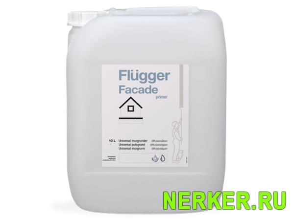Flugger Facade Primer фасадный грунт Флюгер (10л)