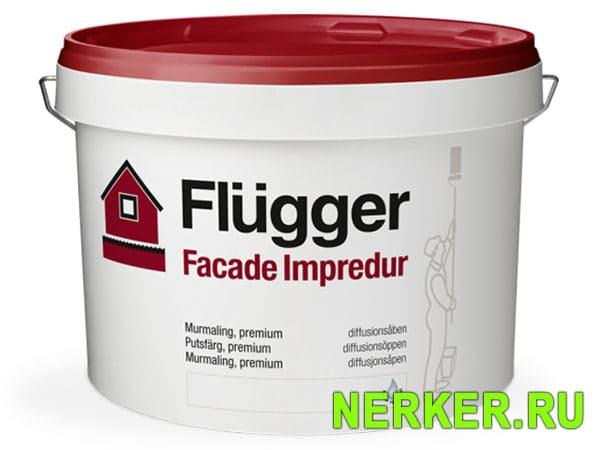 Flugger Facade Impredur Силиконовая фасадная краска