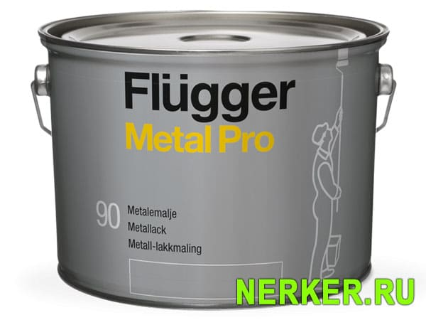 Flugger Metal Pro Metal Enamel Алкидная эмаль по металлу