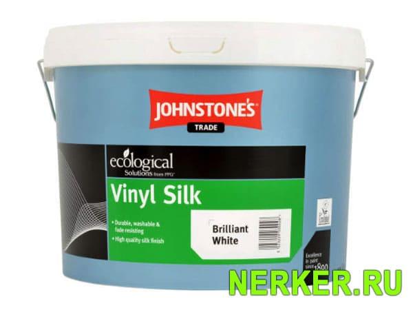Johnstones Vinyl Silk Brilliant White Водоэмульсионная краска